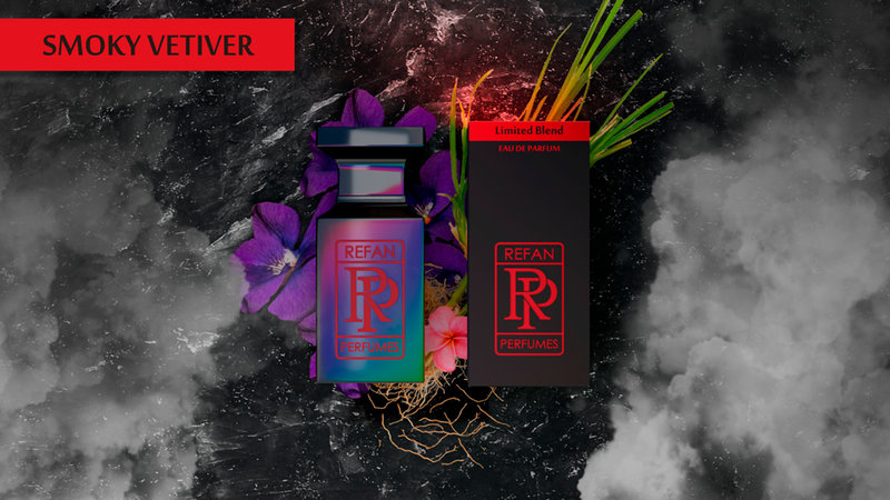 SMOKY VETIVER by REFAN