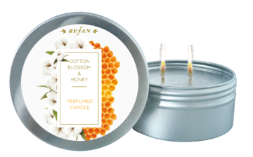 Cotton Blossom&Honey perfumed candle