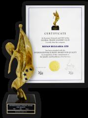 Международна европейска награда за качество 2014