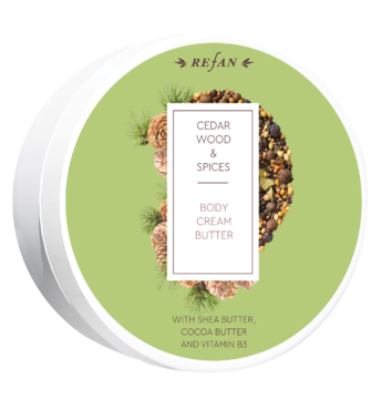 Cedar wood&Spices body cream