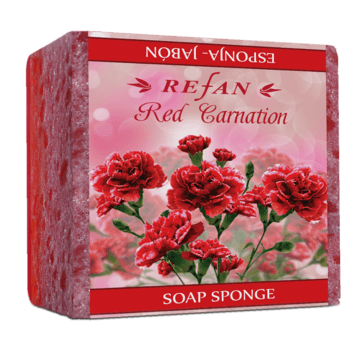 Red carnation Сапун-гъба