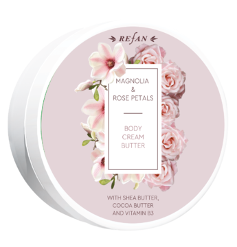 Magnolia&Rose petals body cream