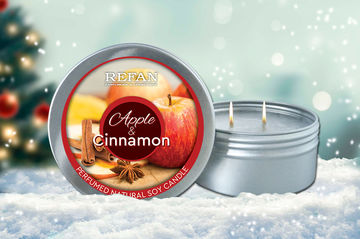 Apple & Cinnamon Candle