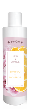 Musk&Orange shampoo and shower gel
