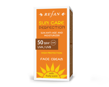 "Крем за лице  SPF 50 UVA/ UVB  ""SUN CARE PERFECTION"""