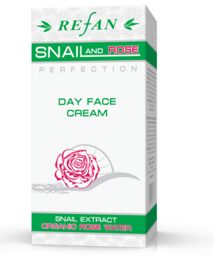 Дневен крем за лице Snail and Rose perfection