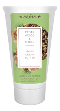 Cedar wood&Spices hand cream